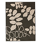 more details on Amble Leaf Rug 120x160cm - Grey.
