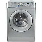 more details on Indesit XWD71252S 7KG 1200 Spin Washing Machine - Silver.