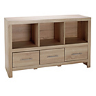 more details on Hygena Tunbridge 3 Drawer Sideboard - Light Oak Effect.