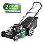 more details on Qualcast 48cm Wide Self Propelled Petrol Lawnmower - 140CC.