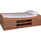 more details on Malibu Single Cabin Bed with Ashley Mattress - Pine.