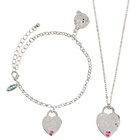 more details on Me to You Heart Necklace and Bracelet Set.