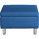 more details on ColourMatch Moda Fabric Footstool - Marina Blue.