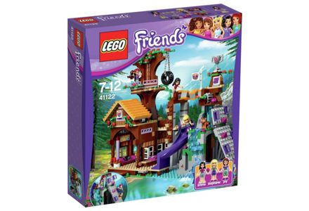 LEGO Friends Adventure Camp Tree House Playset