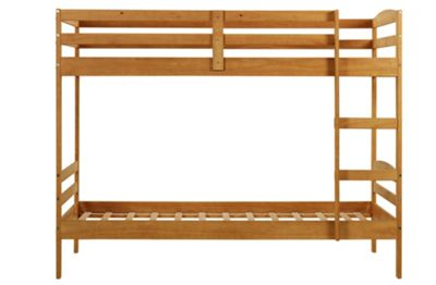 Buy Detachable White Bunk Bed With Ashley Mattress At