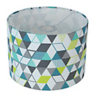 more details on ColourMatch Geo Drum Shade - Multicoloured.