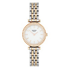 more details on Sekonda Classique Ladies' Two Tone White Dial Bracelet Watch