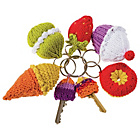 more details on DIY Creative Projects - Knitted Keyrings and Key Caps.