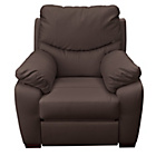 more details on Collection Sorrento Leather Power Recliner Chair - Chocolate