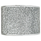 more details on HOME Sparkling Fabric Shade - Silver.