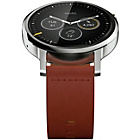 more details on Motorola Moto 360 2nd Gen Large - Brown Leather.