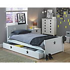 more details on Stars White Single Bed with Drawer.