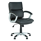 more details on Rochester Mid Back Height Adjustable Office Chair - Black.
