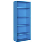 more details on Phoenix 5 Shelf Storage Unit - Blue.