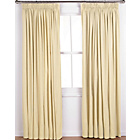 more details on ColourMatch Lima Pencil Pleat Curtain 168x183cm Cotton Cream