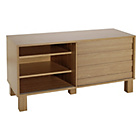 more details on Hygena Genoa Slatted TV Unit - Oak Effect.