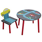 more details on Cars Motif Kids Table and Chairs.