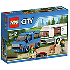 more details on LEGO City Van and Caravan Playset - 60117.