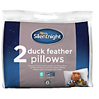 more details on Silentnight 100% Duck Feather Pair of Pillows.