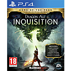 more details on Dragon Age Inquisition Game of the Year - PS4.