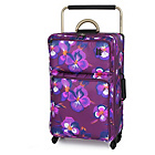 more details on IT Worlds Lightest Purple 4 Wheel Suitcase - Oriental.