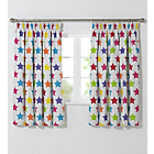 more details on ColourMatch Kid's Star Blackout Curtains - 168 x 137cm.