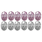more details on Kids Faceted Pink Beads Assortment - Set of 12.