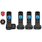 more details on BT 6600 Cordless Telephone with Answer Machine - Quad.