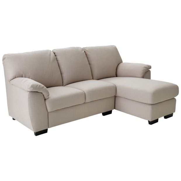Buy collection milano fabric right hand chaise longue sofa for Buy chaise longue