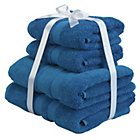 more details on Heart Of House Egyptian Cotton Bale - Deep Sea