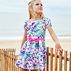 more details on Cherokee Girls' Hibiscus Floral Dress.