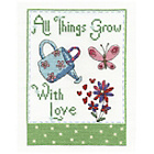 more details on All Things Grow with Love Cross Stitch Kit.
