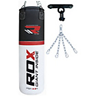 more details on RDX 4ft Punchbag with Gloves, Chains and Bracket