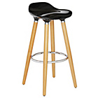 more details on Hygena Bay Bar Stool - Black.