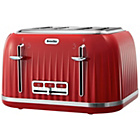 more details on Breville Impressions 4 Slice Toaster - Red.