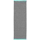 more details on Chevron Printed Cotton Rug - 160x120cm.