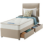 more details on Sealy Revital Backcare Single 2 Drw Divan Bed.