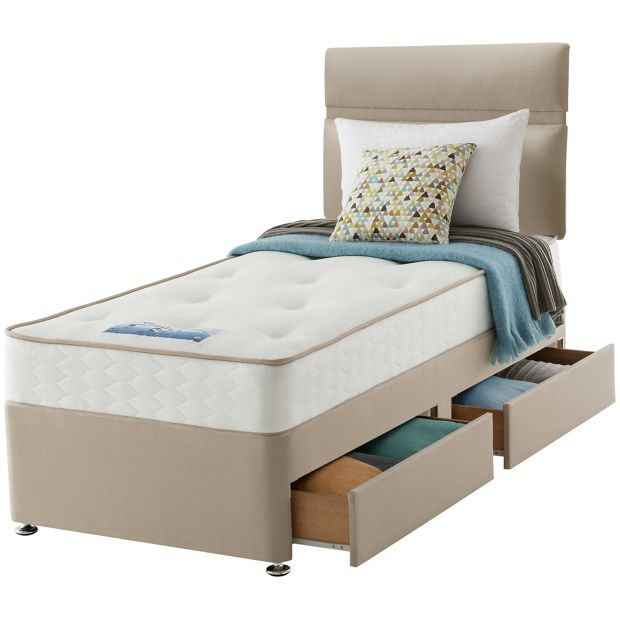 Buy Sealy Revital Backcare Single 2 Drw Divan Bed At Your Online Shop For Divan