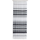 more details on HOME Stripe Shower Curtain - Black and White.
