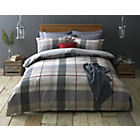 more details on Heart of House Sorrell Woven Check Bedding Set - Kingsize.