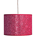 more details on Sparkling Fabric Shade - Pink.