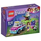 more details on LEGO Friends Olivia's Exploration Car Playset.