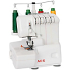 more details on AEG Overlocker Sewing Machine AEG760.