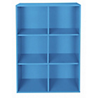 more details on Phoenix 6 Cube Storage Unit - Blue.