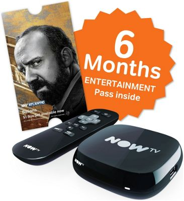 NOW TV Box with 6 Month Entertainment Pass