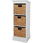 more details on Hadley 3 Drawer Cabinet - White.