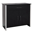 more details on San Marino 2 Door 1 Drawer Sideboard - Black.