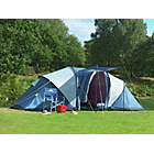 more details on Trespass Go Further 6 Man Carpeted Tent.