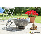 more details on La Hacienda Slate Effect Large Firebowl.