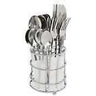 more details on ColourMatch 16 Piece Cutlery Caddy - Super White.
